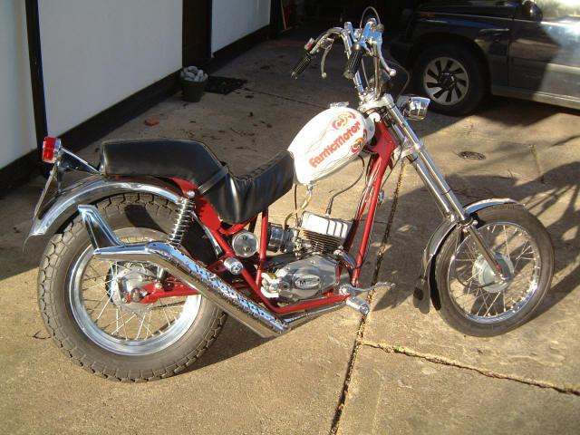 Fantic Chopper,fantic motor sports moped, www sixteener